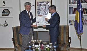 Ministri Kujtim Shala priti Ismail Sadikun nga Federata Sportive e Punëtorëve të Kosovës